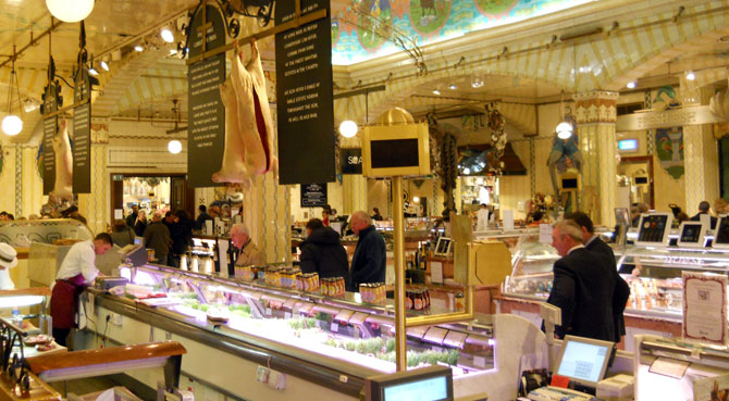 Harrod's Food Courts